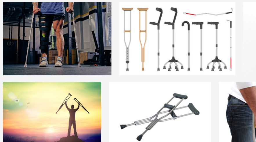 4 types of crutches